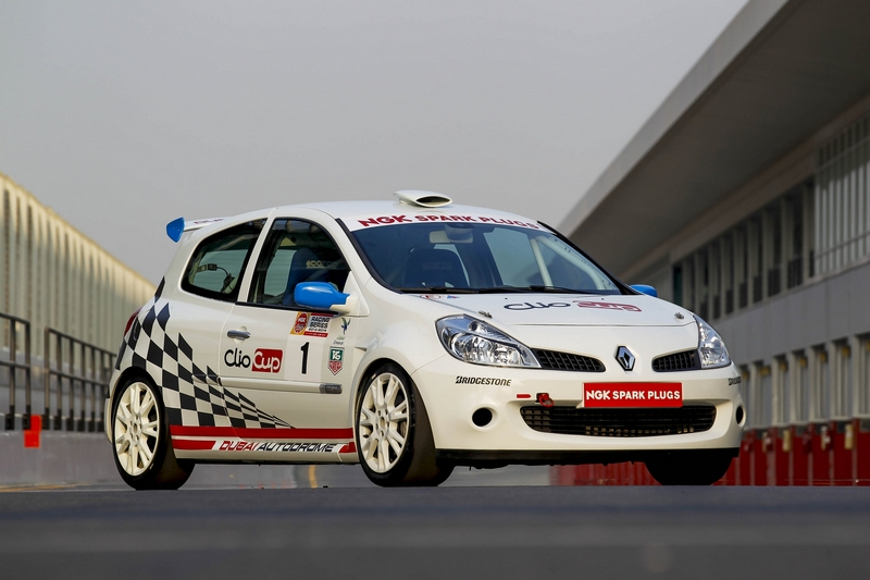 Dubai Autodrome: French revolution at the Dubai Autodrome with Renault Clio Cup launch