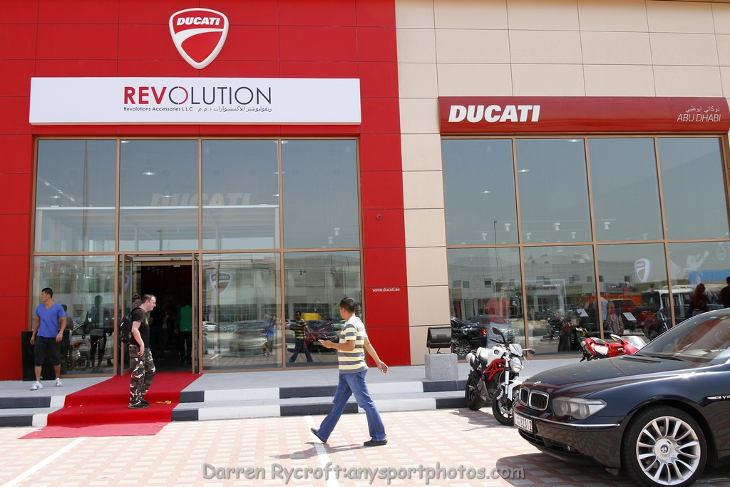 Ducati motorcycles roll into Abu Dhabi
