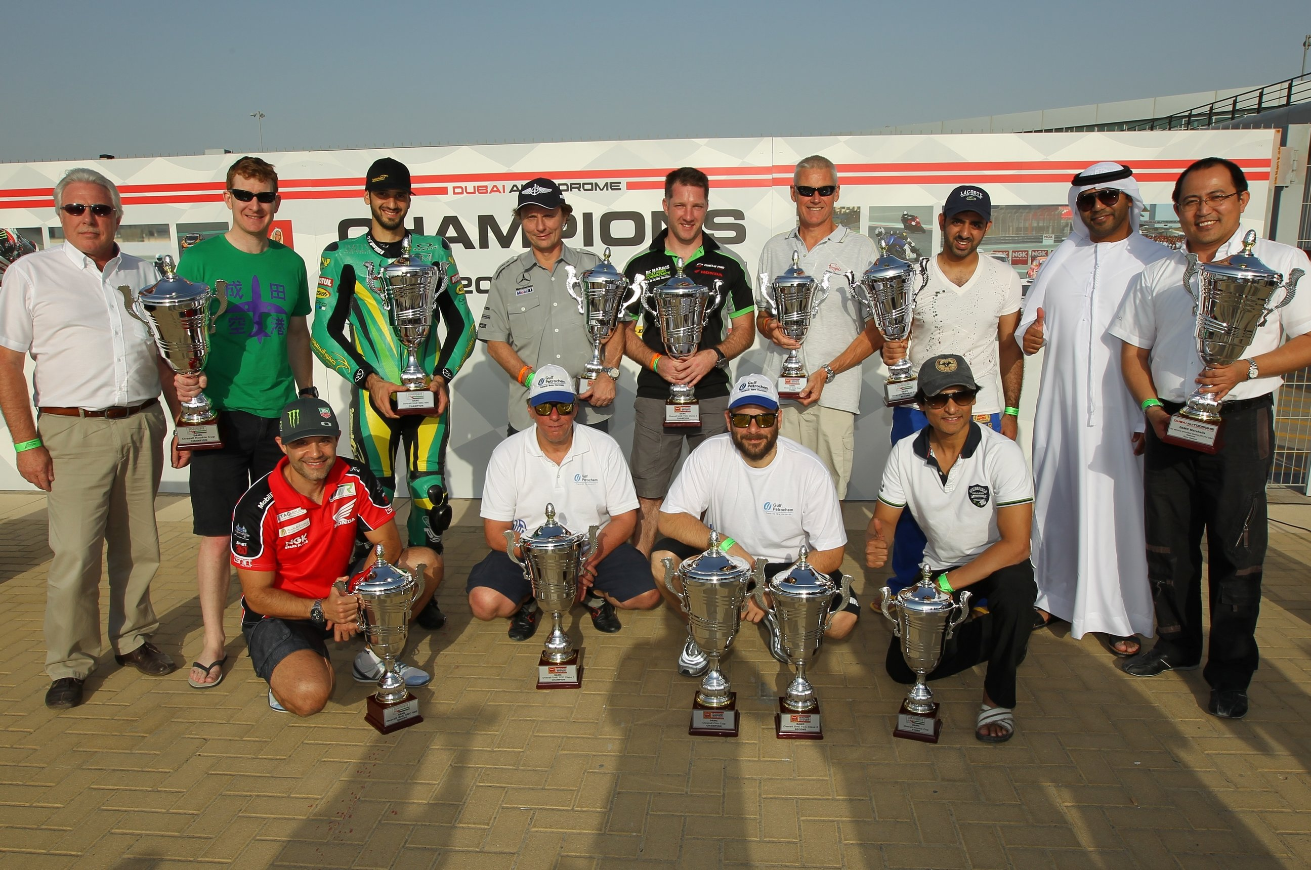 Dubai: Full on with the Ferret – Dwindling grids & empty pits…