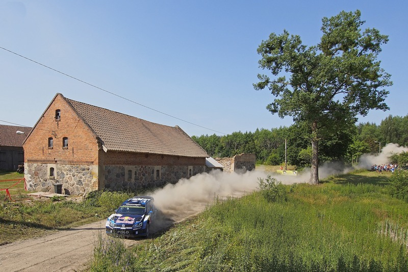 WRC: Volkswagen back on top in Poland with a faultless one-two