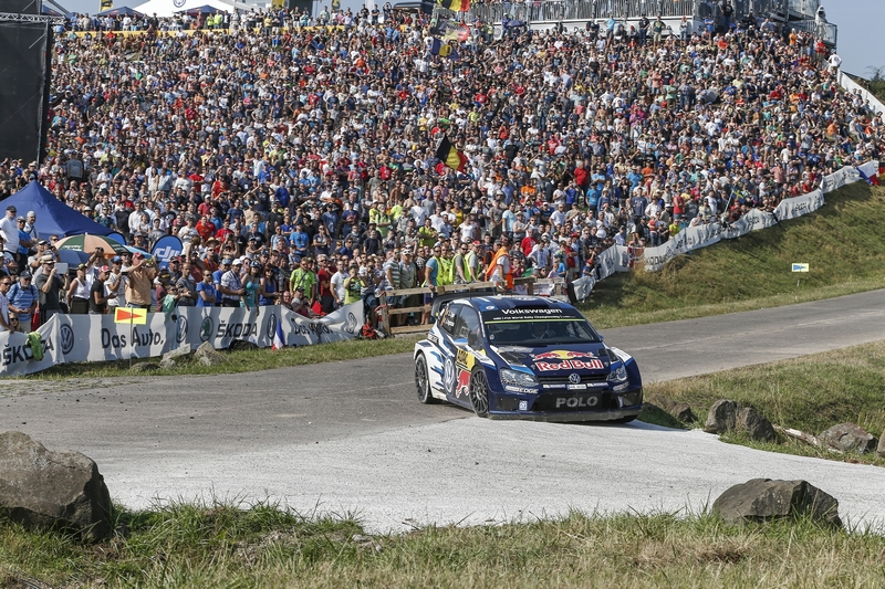 WRC: Volkswagen take top three positions in Germany