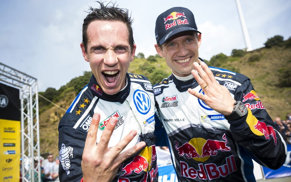 WRC: Rally Spain victory sees Sébastien Ogier/Julien Ingrassia crowned World Champions
