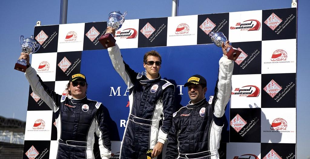 Maserati Trofeo JBF RAK: Sbirrazzuoli and Ghanem each take a win in first round of the Championship
