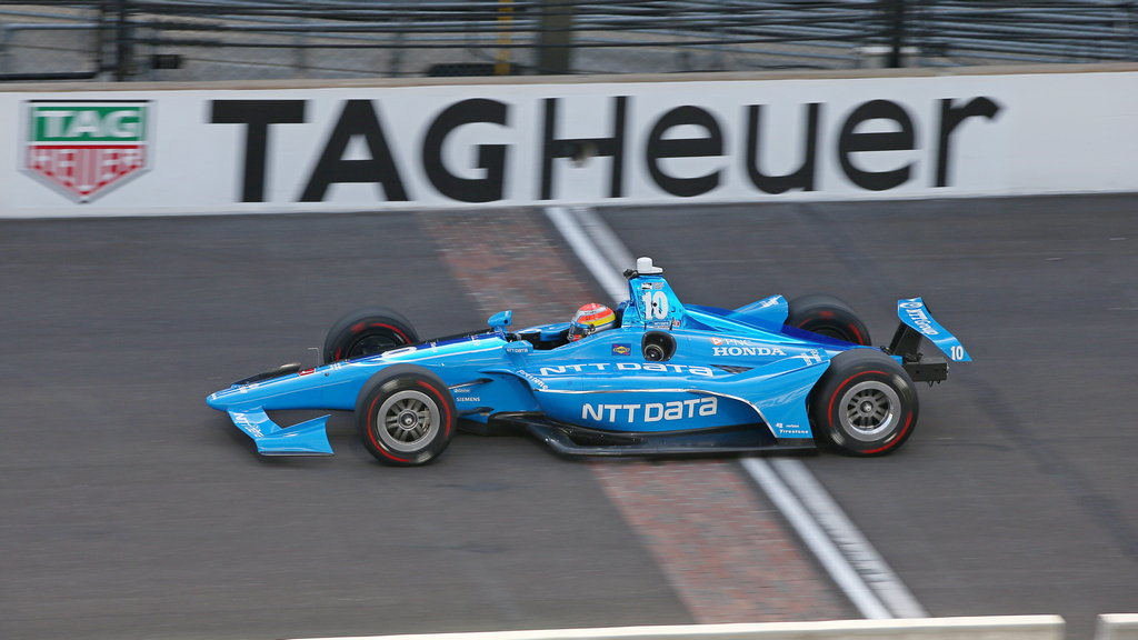 IndyCar: Jones on the pace and upbeat despite qualifying error for Indy500