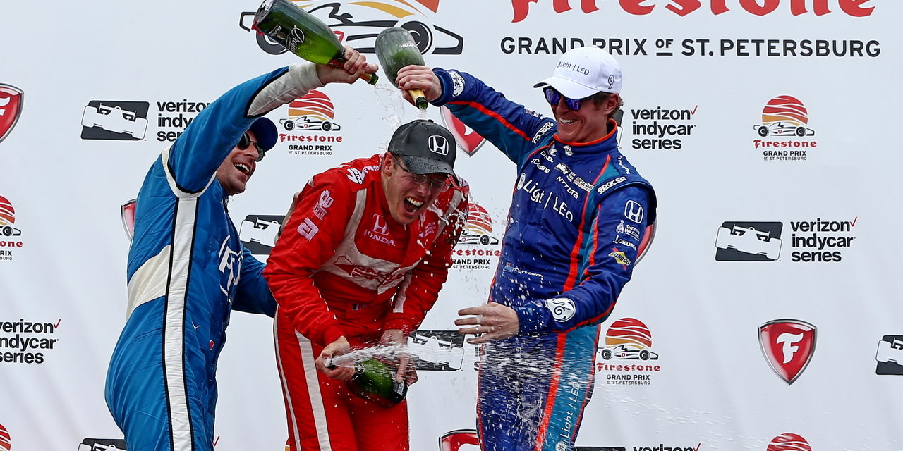 IndyCar: Bourdais drives from last to first in St. Petersburg win