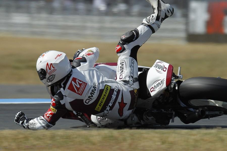 Moto2: QMMF rider Cardús fast despite crash – Al Naimi searching new set-up solutions