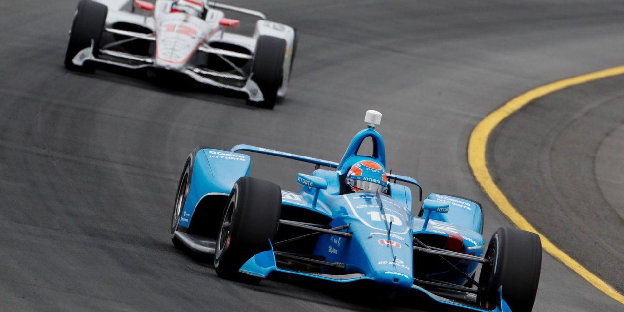 IndyCar: Jones endures tricky weekend after lengthy first lap red flag and damaged car hampers progress