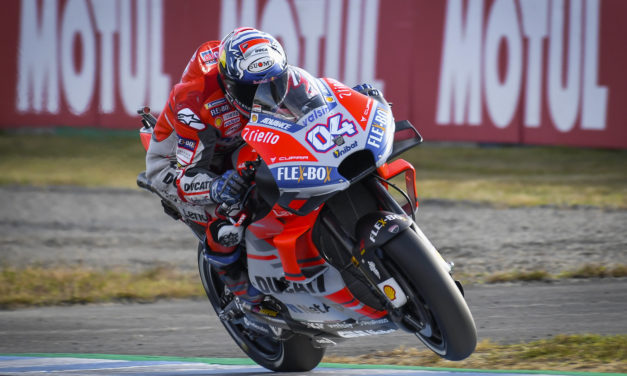 MotoGP: Dovizioso secures Pole position and out to deny Marquez Championship victory in Japan