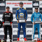 IndyCar: Street fighter Jones is California Dreamin' with Long Beach podium charge