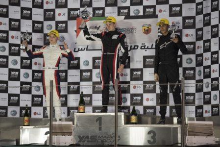 Trophy Event podium F4 UAE