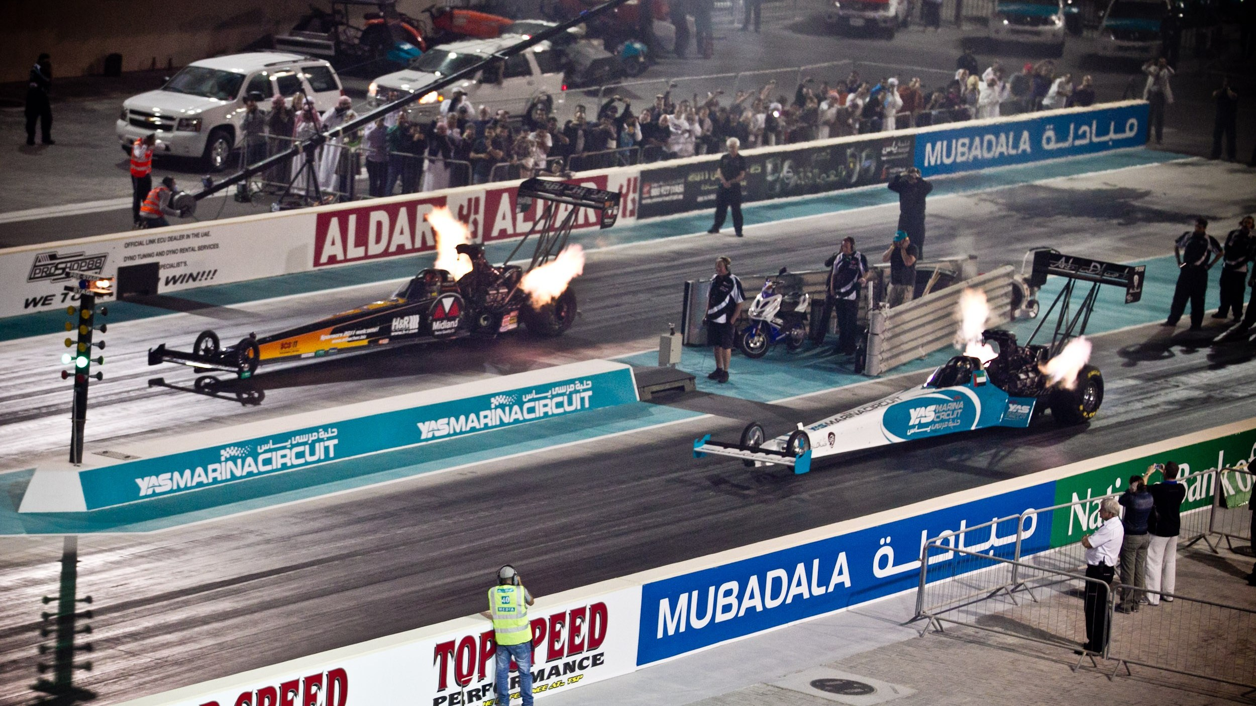Drag racing: Hot Rod Fuller wins the Top Fuel battle at Yas Drag racing Festival