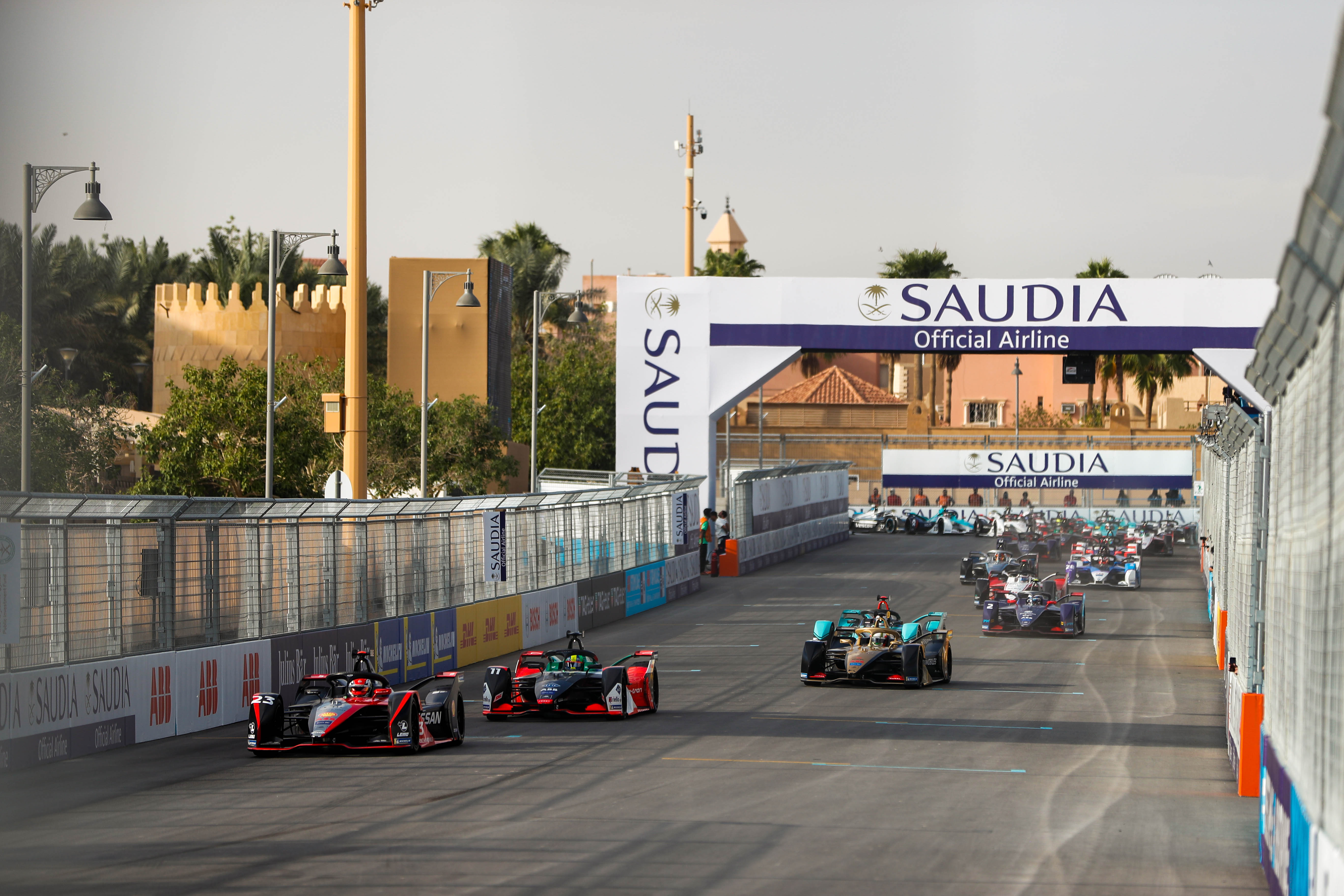Formula E: Sam Bird claims victory in opening round as Alex Sims clinches maiden win in Saudi Diriyah E-Prix