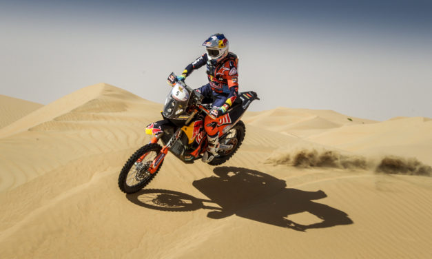 Dubai: Dubai rider Sam Sunderland ready to defend title in Desert Challenge trail