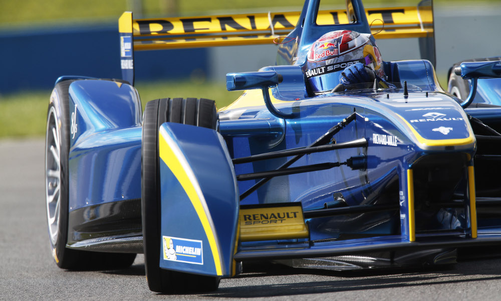 Formula E: Swiss driver Buemi remains quickest on penultimate Donington test