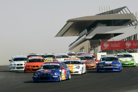 Start of the first ever Dubai 24H race in 2006