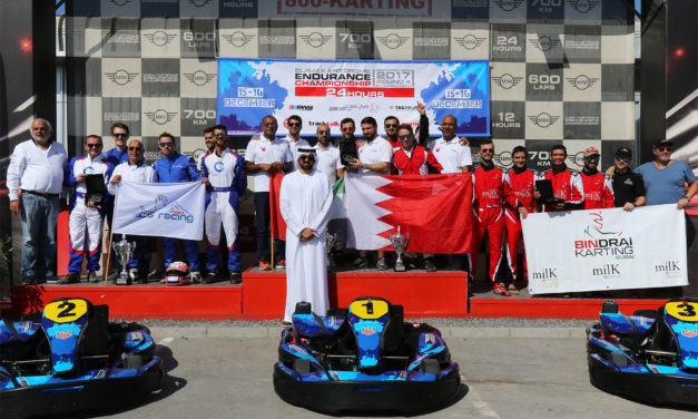 Karting: Batelco Racing team wins Dubai Kartdome Endurance Championship