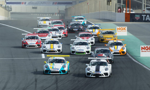 Dubai: Porsche BWT GT3 Cup Challenge Middle East headlines new motorsport season at Dubai Autodrome