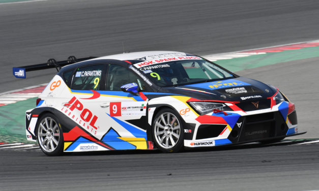 Dubai: Papantonis wins opening NGK UAE Touring Car rounds in Dubai