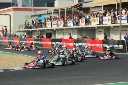 IAME X30 Senior race start