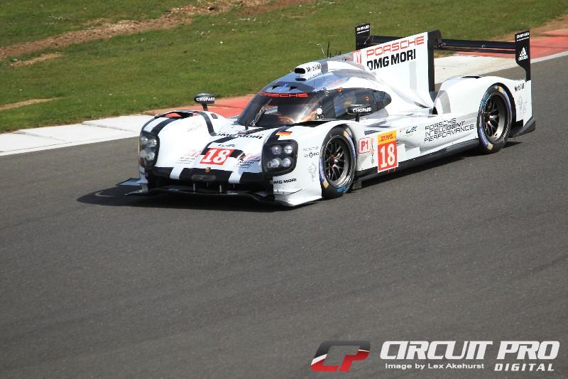 WEC: Podium for the new LMP1 Porsche 919 Hybrid at Silverstone
