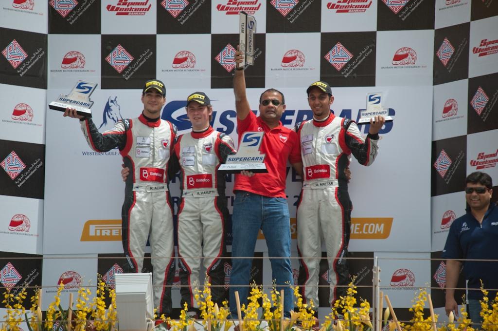 WGA Supercars: Varuttii and Mattar claim a win apiece in thrilling Bahrain Speed Weekend