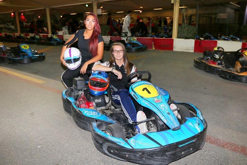 Dubai: Dubai based ladies rank in world top three for the SWS kart series