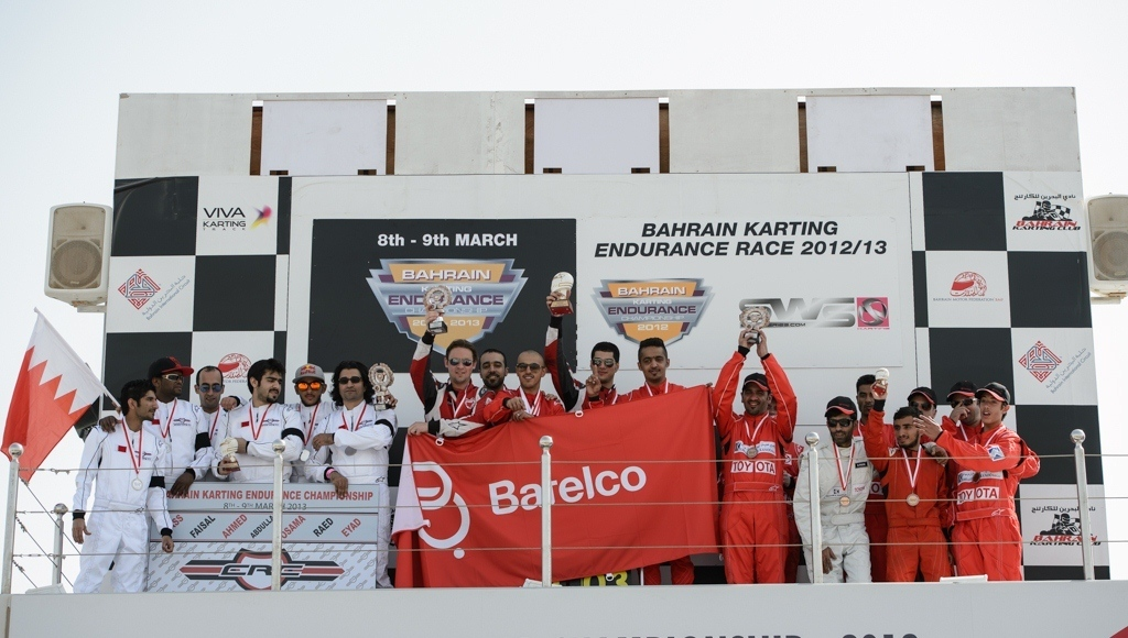 Bahrain: Batelco karting team claims victory for inaugural 24hr