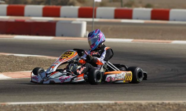 Karting: Dubai schoolgirl Logan Hannah picked for Arden Young Driver Academy