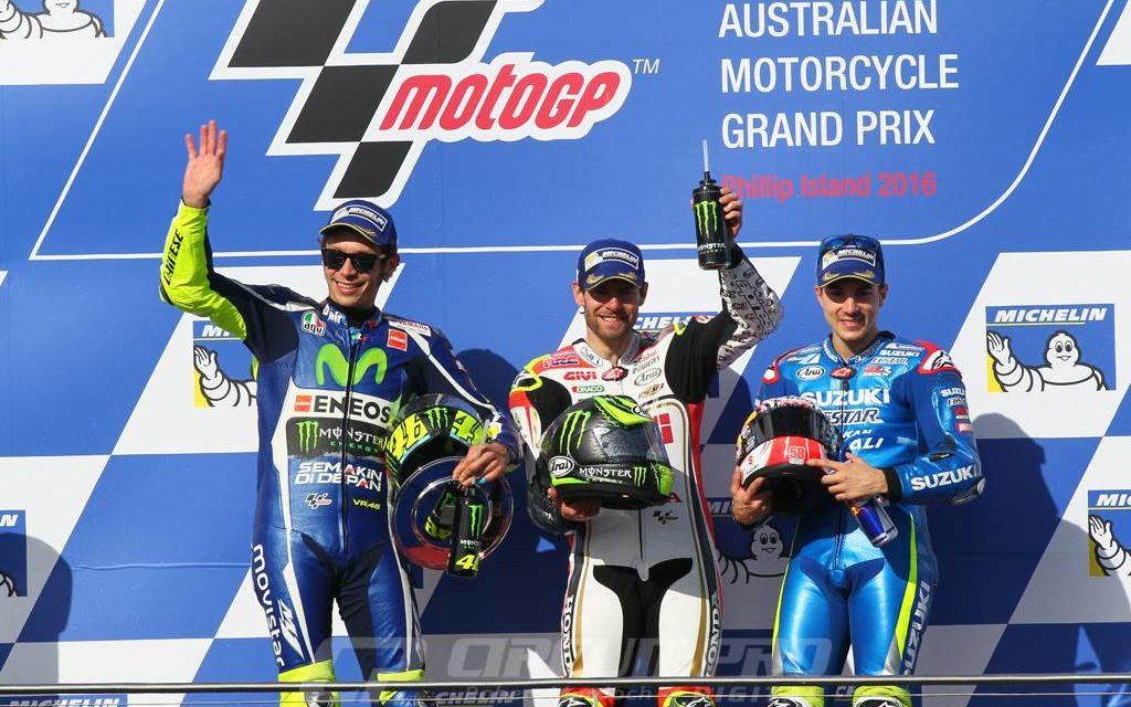 MotoGP: Crutchlow remains uncatchable as Marquez crashes at Philip Island