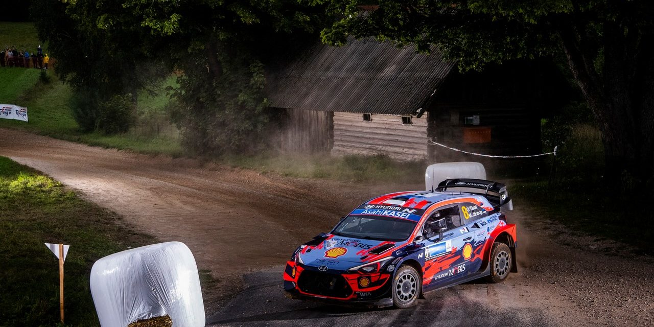 WRC: Estonian delights with top spot on home turf and third in standings