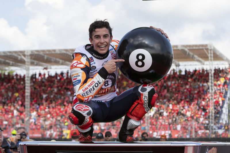 Marquez wins in Thailand