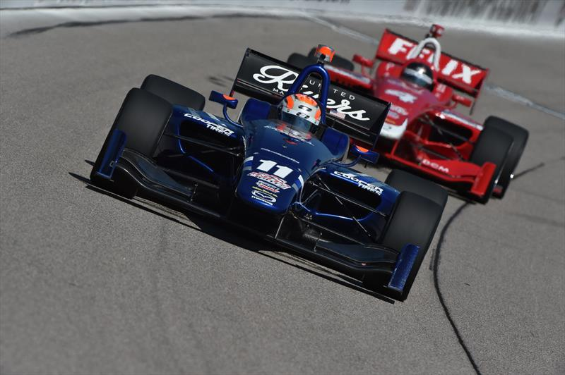 IndyLights: Valuable points for Ed Jones in Iowa as he closes in on Championship leaders