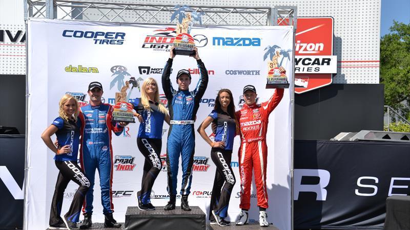 IndyLights: Dubai's Ed Jones takes maiden win in Indy Lights St. Petersburg