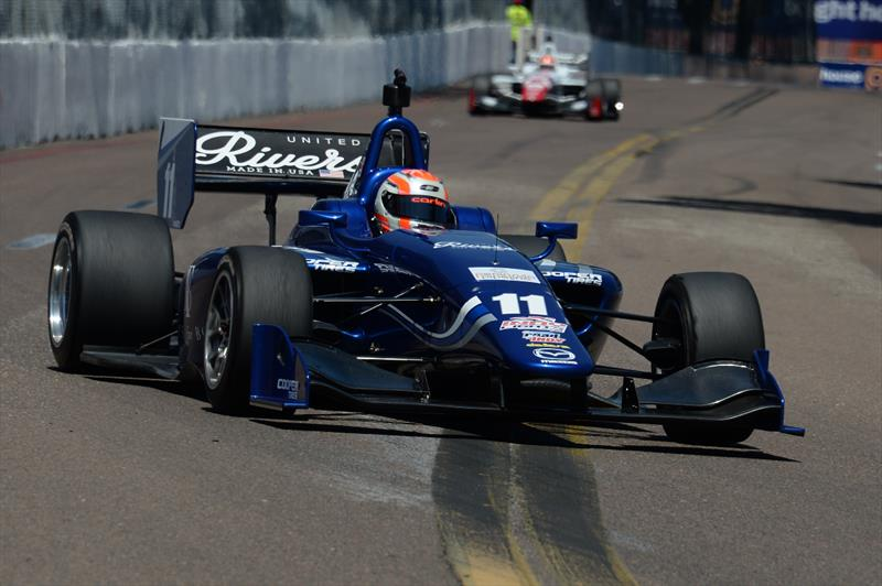 IndyLights: Ed Jones dominates St Petersburg with two emphatic wins with Carlin Motorsport