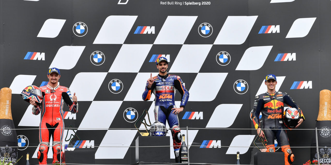 MotoGP: Portuguese rider Oliveira stuns in Styria to win the 900th premier class race in style