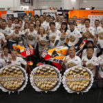 MotoGP: Pedrosa ends career with fifth place and Repsol Honda win the triple crown