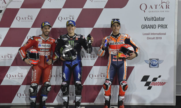 MotoGP: Viñales lights up Losail for pole Yamaha, Ducati and Honda get ready for a showdown