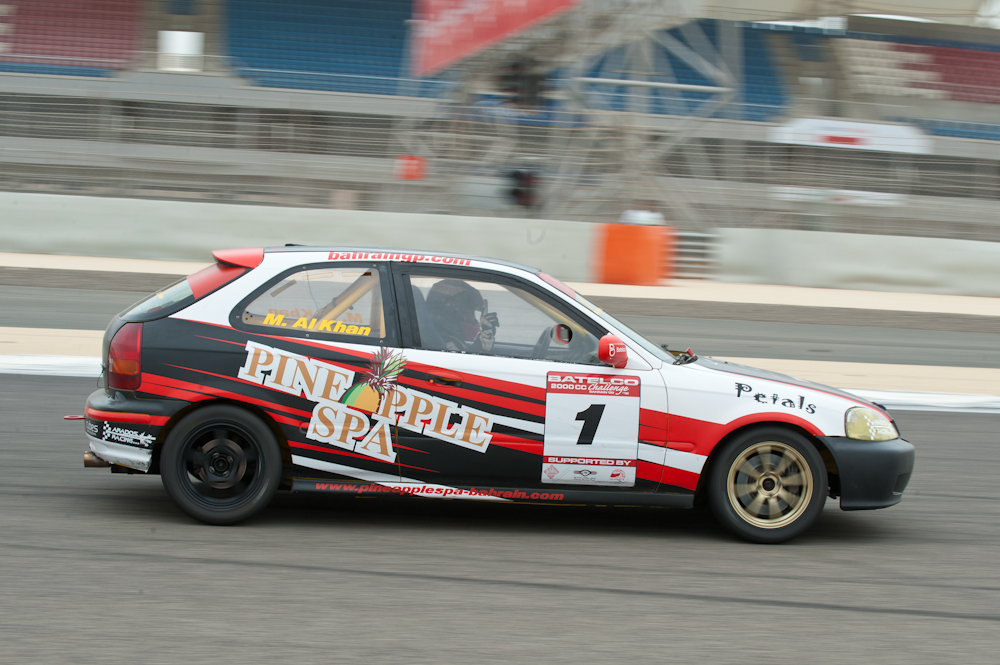 Mustafa Al Khan in double victory at the penultimate round of the Batelco 2000cc Challenge