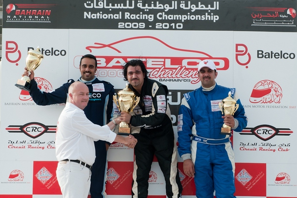 Mustafa Al Khan victorious in the 2009-10 season of the Batelco 2000cc Challenge