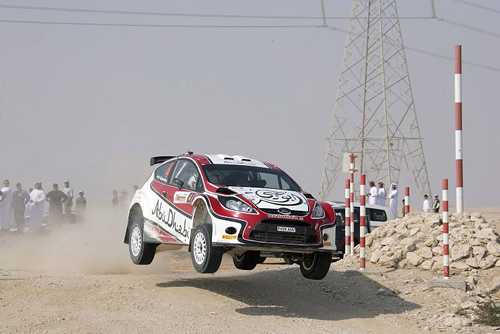 ABU DHABI RALLY ACES SET FOR THRILLING DESERT DUET