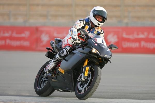 Troy Bayliss in Dubai to open new Ducati store