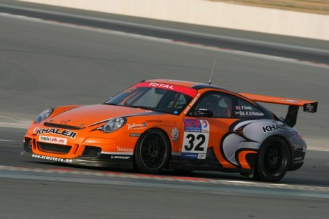 Total UAE GT Championship GTB Champion: Paul Denby – Khaleji Motorsport Porsche