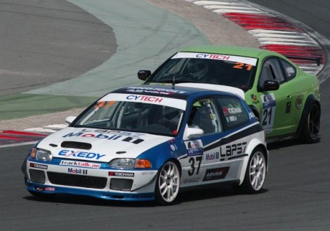 Cytech UAE Touring Car Championship Class 2 Champion: Umair Khan – Lap 57 Honda