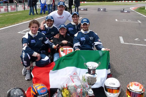 Victory for UAE karting team in France