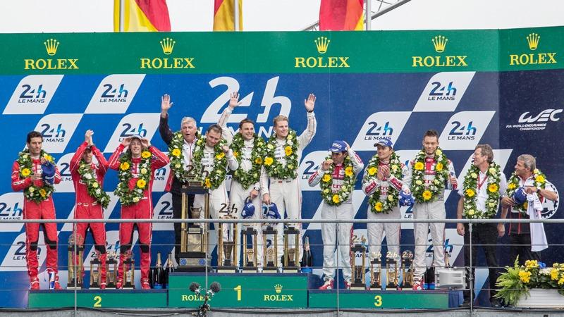 Le Mans: Porsche LMP1 seals historic 1-2 victory with Audi in third