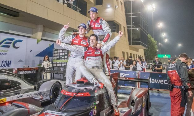Bahrain: Emotional last victory for Audi as Dumas, Jani and Lieb are crowned World Champions at FIA WEC Bapco 6 Hours of Bahrain