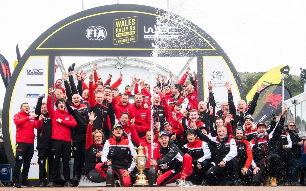 WRC: Rally Wales – Tanak takes narrow victory after a hard fought battle