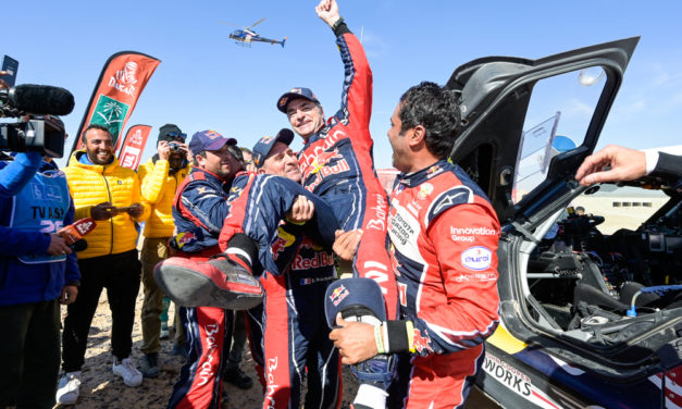Dakar: Sainz takes cars title and Brabec makes history for USA and Honda with win in Saudi Arabia