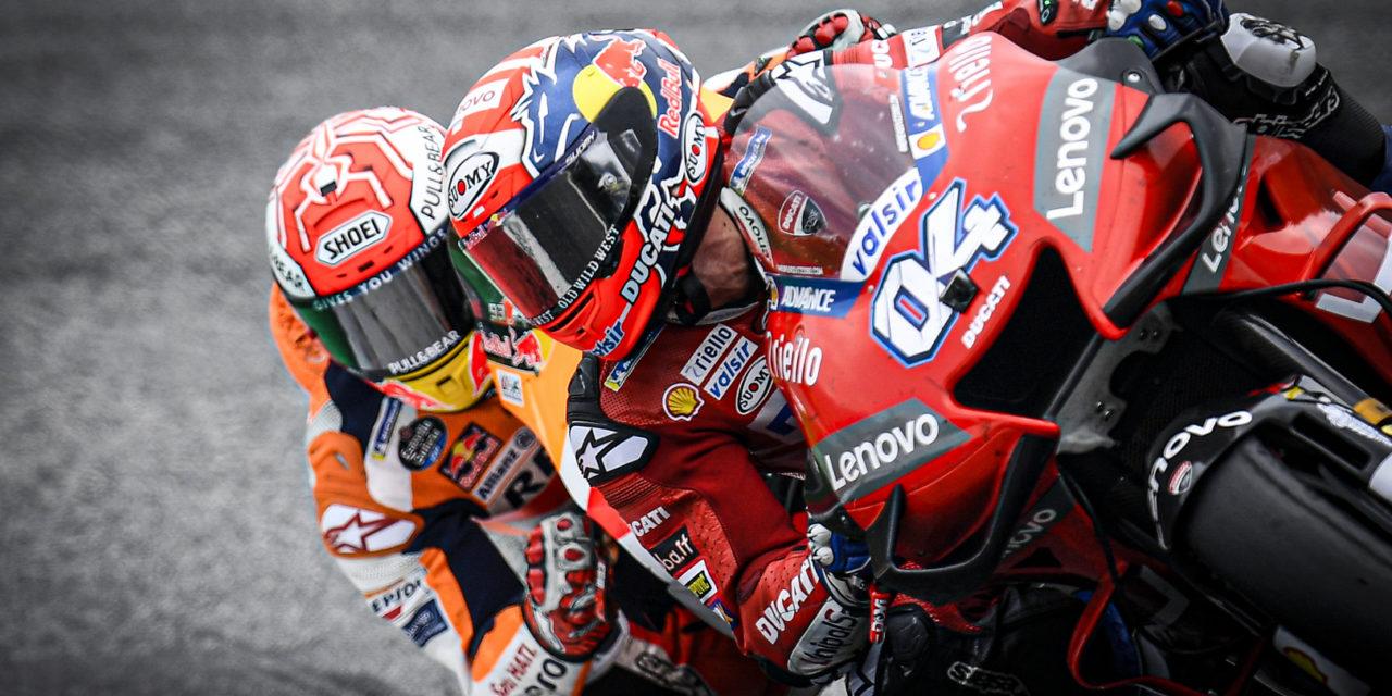 MotoGP: Dovizioso denies Marquez in last corner Austrian thriller