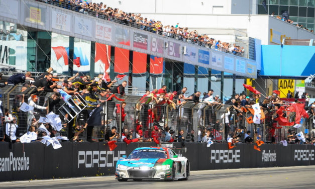 24H: Fifth victory for Team Phoenix and Audi at 24H of Nurburgring